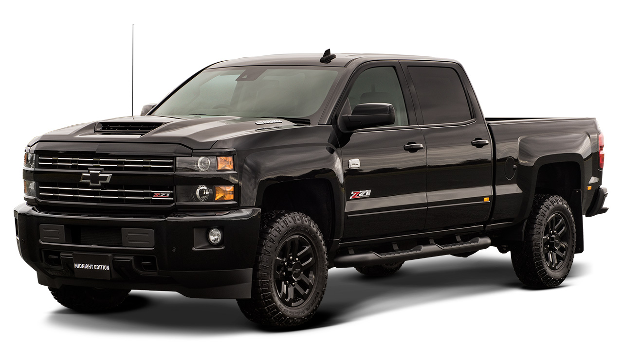 MY18/MY19 Silverado 2500HD LTZ Midnight Edition