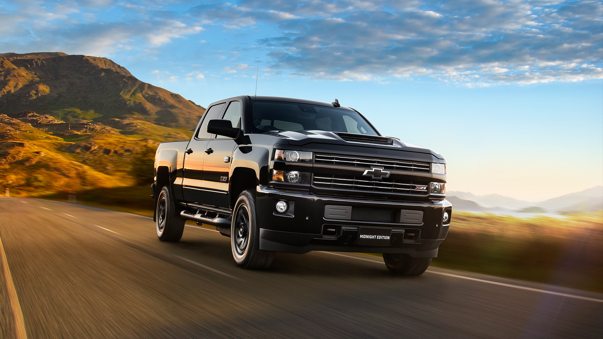 2020 chevy 2500hd midnight edition