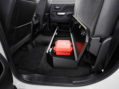 Rear Under Seat Lock Box