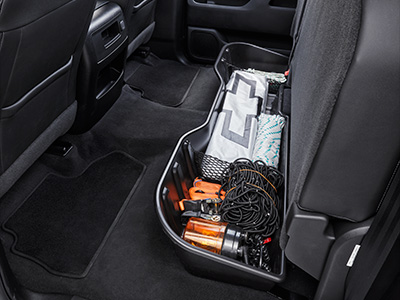 Rear Under Seat Organiser – Black
