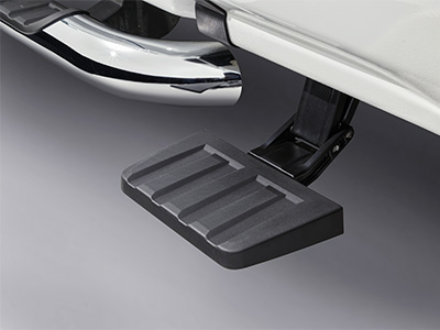 Retractable Rear Bed Step